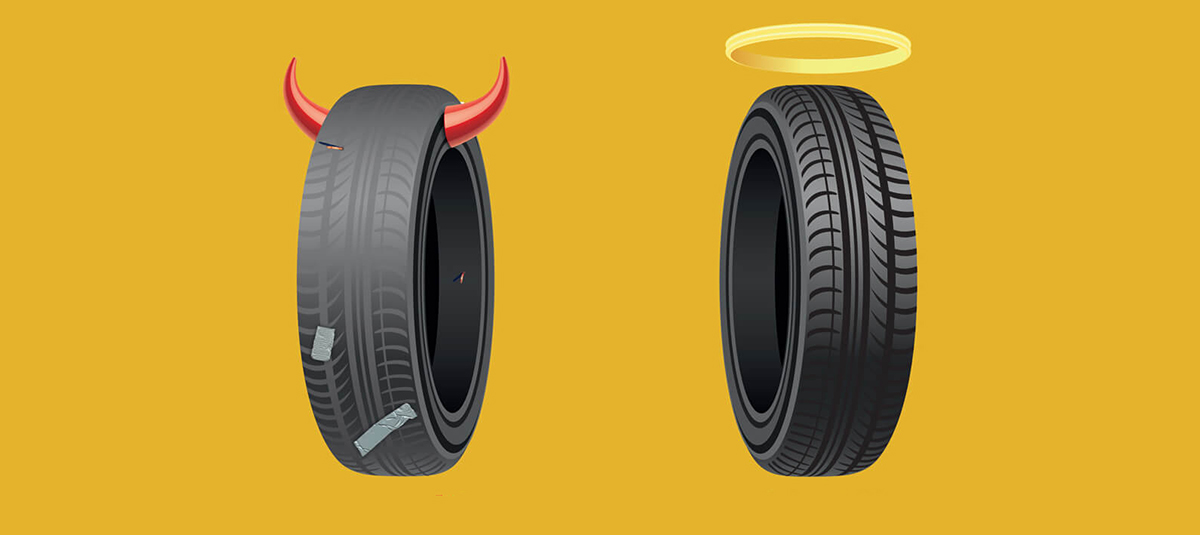 The importance of good car tyres