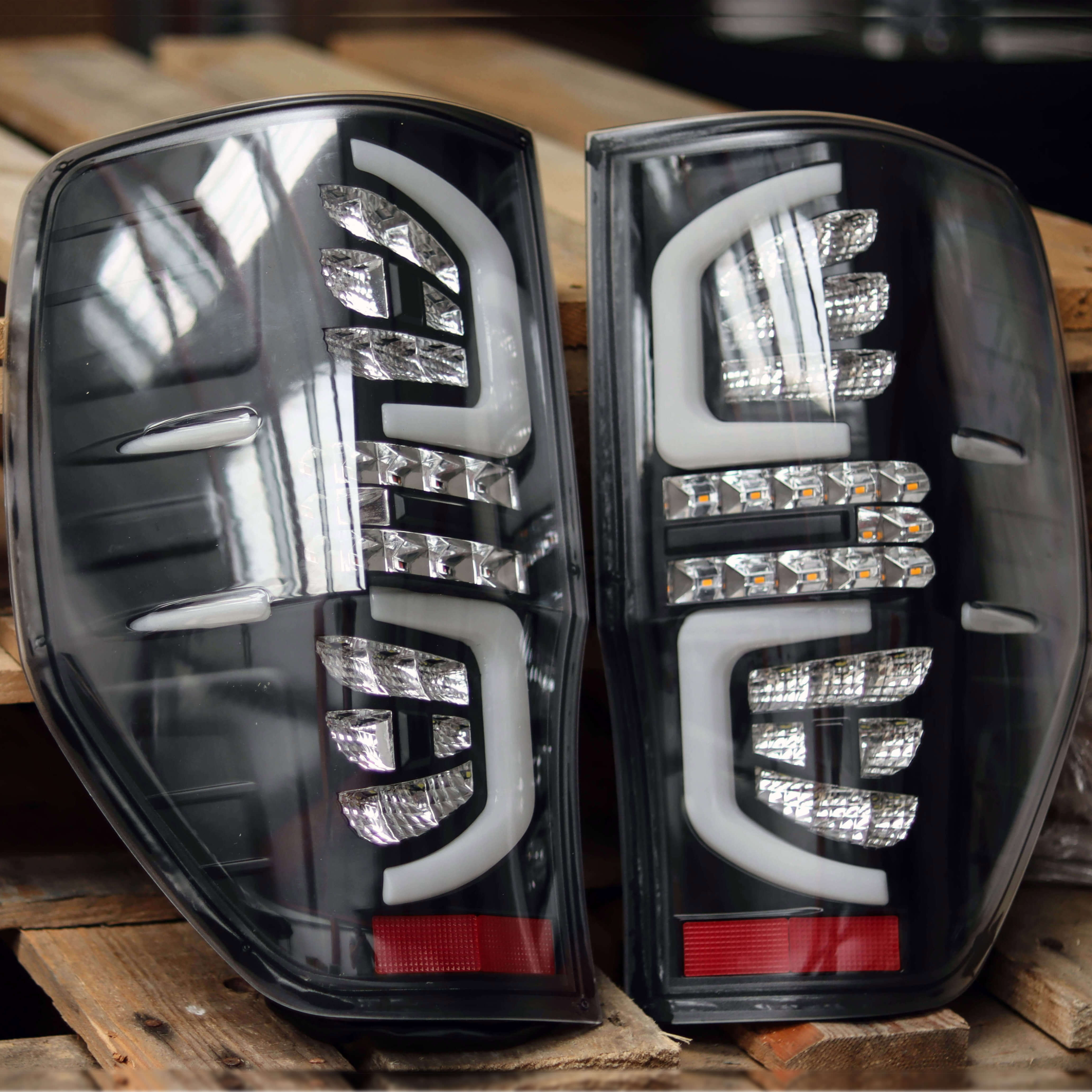 2012  Ford Ranger Led Upgrade Taillights Clear