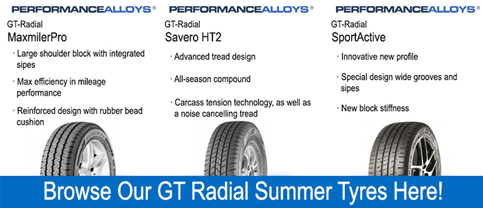 gt radial summer tyre