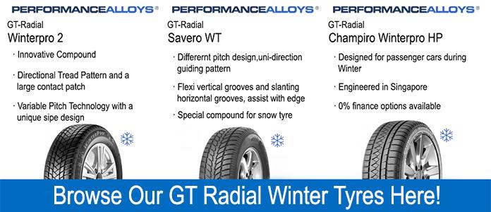 gt radial winter tyres